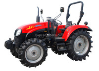 YTO MF504 50HP 4WD high quality tractor farm tractor with front end loader and backhoe