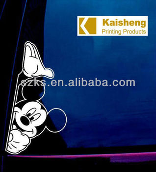 static cling window decal