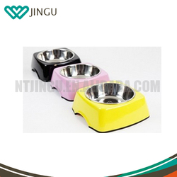 Pet Bowl Stainless Steel antiskid Dog bowl suitable for s/m/l dogs