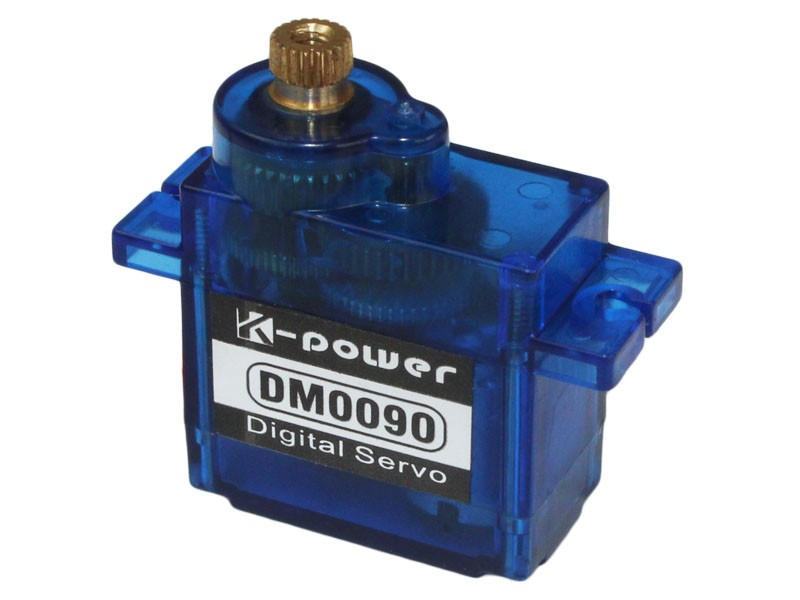 K-power DM0090 Popular 9g Digital Servo for rc helicopter /SG90 servo