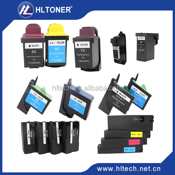 Compatible Epson ink cartridge T6761XL/T6762XL/T6763XL/T6764XL for WorkForce Pro WP-4010/WP-4020/WP-4023/WP-4090/WP-4520/WP-453