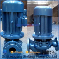 ISG Single-Stage Pump Structure and Water Usage Floating Pump