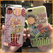 lovers phone case printing silicone soft shell for iphone 6 6 plus