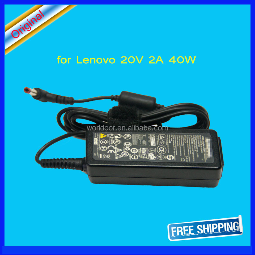 40W laptop battery charger For Lenovo IdeaPad S9 S10 M9 M10 U260 U310 20V 2A Brand New Power Supply