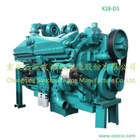 Large Power Air Cooled Used Marine Diesel Engines Parts of Main Engine of Ship