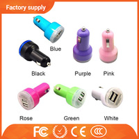 Alibaba Best Wholesale 3.1 A oem quality mini color universal car charger , mini car charger for iphone