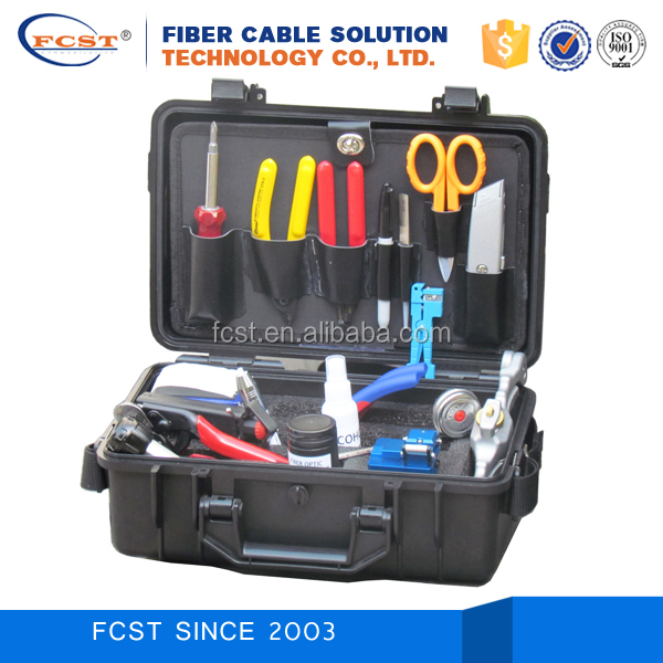 FCST210204 Fiber Optic cable splice kits Fusion Splicing Tool Kit