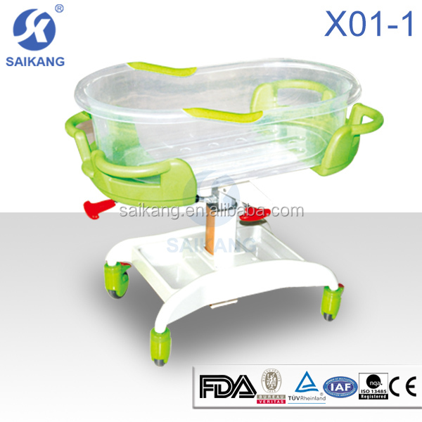X01-1 hospital new born baby bed,baby automatic cradle swing