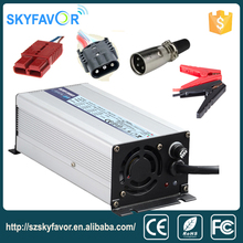 Aluminum shell intelligent automatic 24v battery charger 10a