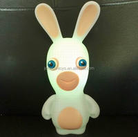 CE making bunny 3D cartoon table top stand led night light