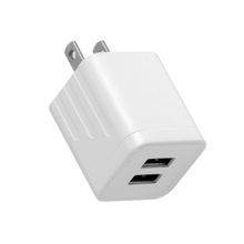 Factory Wholesale Wall <strong>Charger</strong> 2-Port Travel AC Adapter Portable Charging Block Power Plug