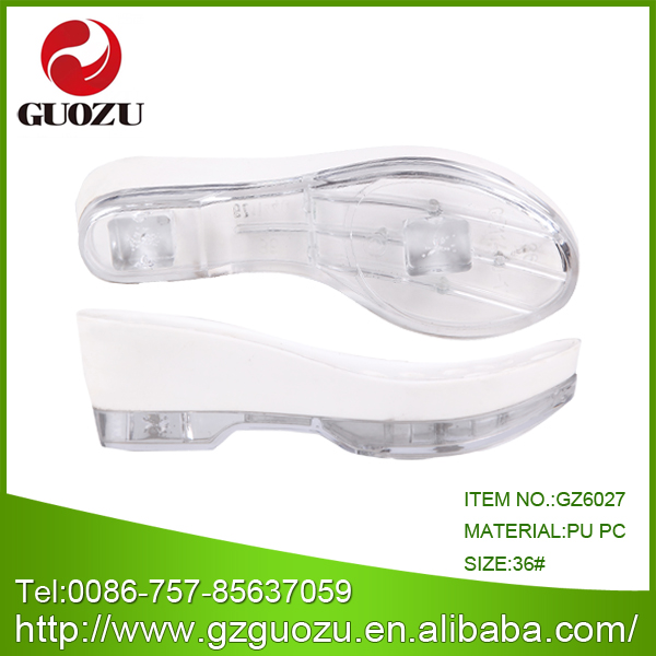 clear shoe soles for women