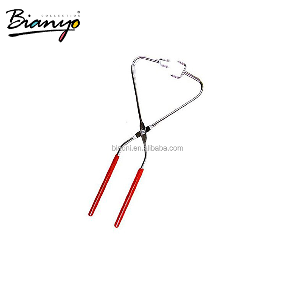 Ceramic Tools Stainless Steel Glazing Thongs Dripping Tongs