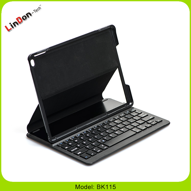 Light portable Leather Case Smart Bluetooth wireless keyboard for iPad Air 2 Pro 9.7""