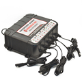 6V/12V 5-Bank Battery Chargers Battery Mangement System Charge 5 Batteries at the same time