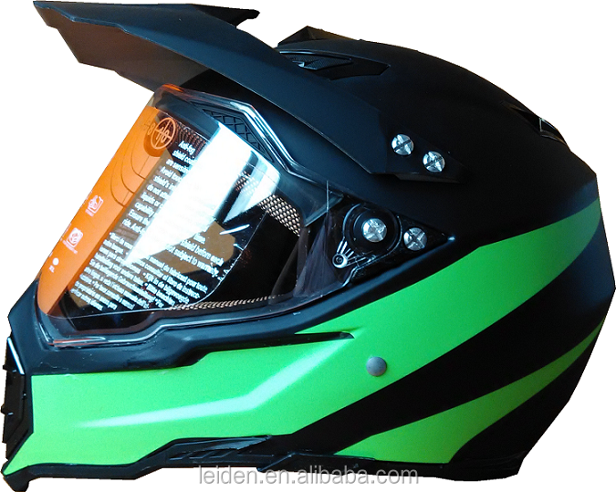 new stylish motocross CE/dot cycle helmet