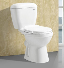 Chinese Factory Bathroom Two Piece Washdown Type Toilet Commode/Wholesale Ceramic Sanitary Ware Toilets