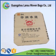 Factory custom cement bag high end paper cement bag for 25kg 50kg
