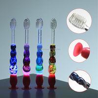 New kids LED flashing tooth whitening toothbrush made in China