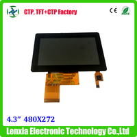 Color 4.3 inch tft lcd module, 480x272 4.3inch touch screen TFT LCD module