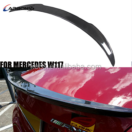 2013+ Carbon FD Type Trunk Boot Spoiler Wing For Mercedes CLA <strong>W117</strong>