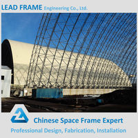 Galvanized timber frame construction monolithic dome construction
