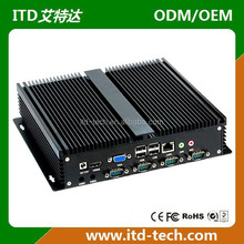 1037U processor dual-core fanless mini PC