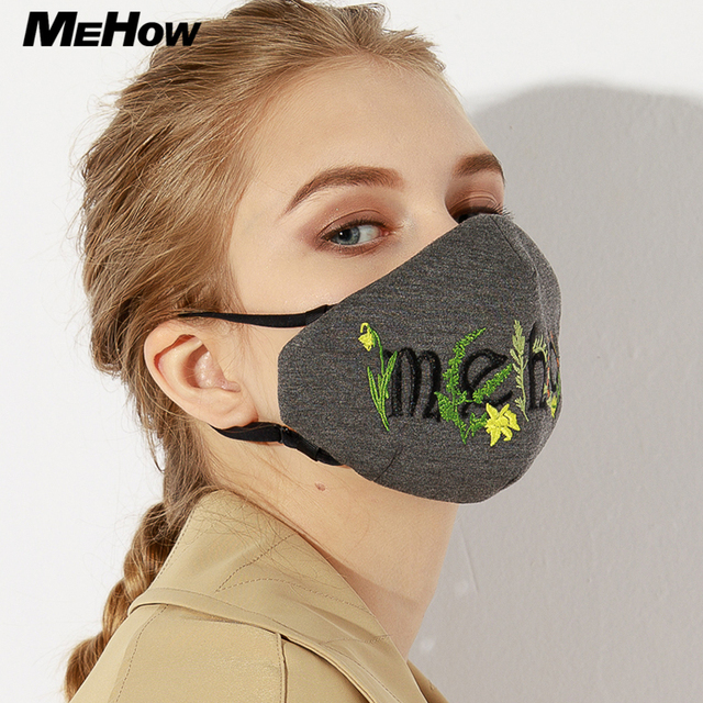 MeHow fashion anti smog mask sex face mask air filter mask