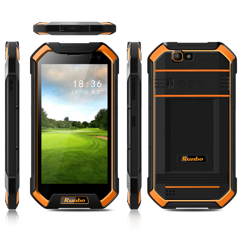 5.5 inch android rugged smart phone with IP67 best military grade cell phone