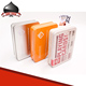 Custom Design High Quality Plastic Playing Card Poker Set in Metal Tin Box Case Packing
