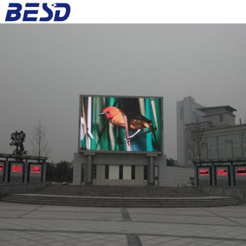 full color P16 outdoor advertising led display screen in shenzhen