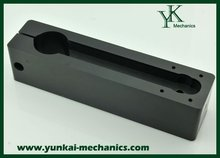 Black color molding part, POM / PC / ABS injection moulding parts, plastic cover / housing cover