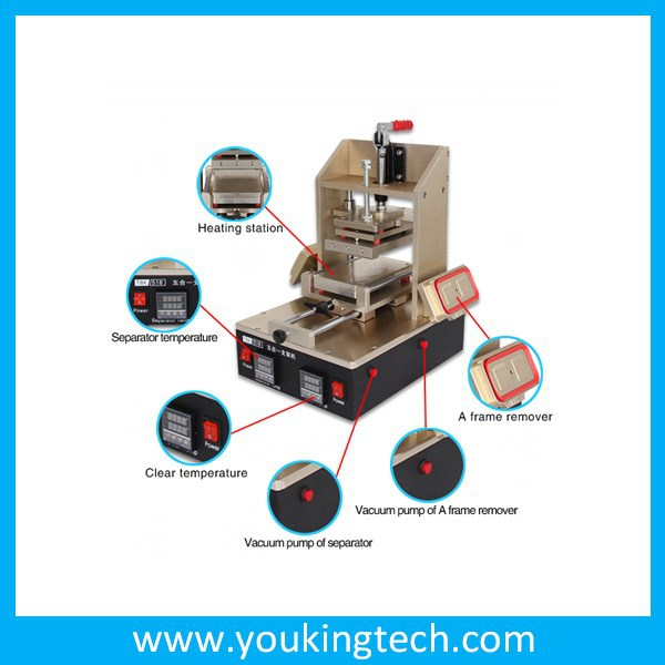 For iPhone Frame Machine, Frame Laminator Machine for iphone, Frame separator machine for samsung lcd