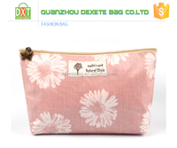 Customized cute cheap nice travelling polyester cosmetics wholesale for promotional