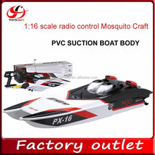 hot new products for 2015 Large scale NQD 6016 1:16 scale radio control Mosquito Craft Giant racer boat plastic boat