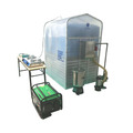 Mini waste disposal system biogas uses plant