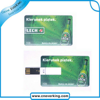 2015 High-speed credit card model USB Memory Stick Flash Drive 2GB 4GB 8GB 16GB 32GB