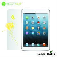 Bestsuit Brand bright golden diamond protective film for ipadmini,diamond screen protector