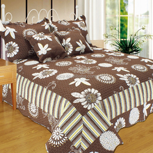 50% Cotton 50% Polyester adult microfiber quilt