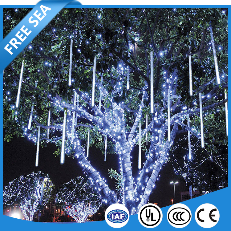 Waterproof Falling Rain Fairy Lights for Christmas Wedding Party Xmas Tree