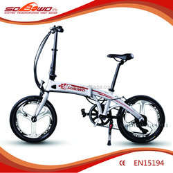 250W 4.0 tires mini folding electric super pocket bike
