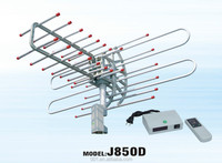 J850D NEW DESIGN UHF VHF OUTDOOR ROTATING TV ANTENNA REMOTE CONTROLLED AMPLIFIED TV ANTENA NO DIRECTIONAL ANTENNAS