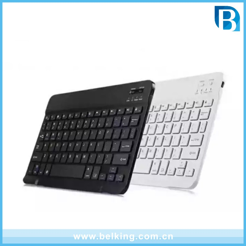 Tablet Universal Wireless Bluetooth Keyboard For 7inch 10inch keyboard leather case