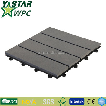 antisepsis Cheap soild Interlocking deck tiles