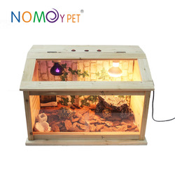 Nomoy Pet wooden houses for reptile