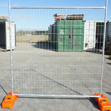 Hot-dipped galvanized Temporary fencing