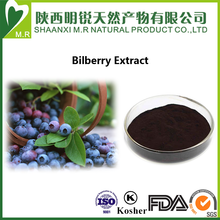 Fresh Nature Fruit Bilberry Extract for 25% Anthocyanidins by Anti-aging