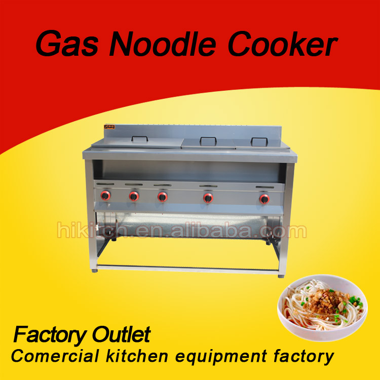 High Efficiency 6 baskets Pasta Cooker with Oden Maker