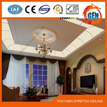 ceiling decoration fashion patten hang ceiling plastic pvc hang ceiling