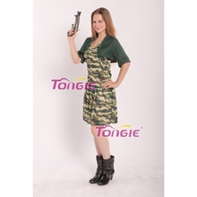 Sexy Adult Women's Army Camouflage Soldier Costume